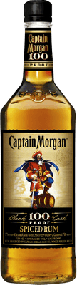 Medium captain morgan 100 rum