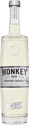Medium monkey coconut rum 400px