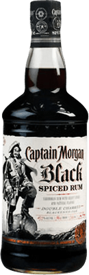Medium captain morgan black spiced rum