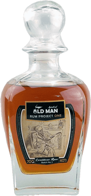 Medium old man rum project one rum