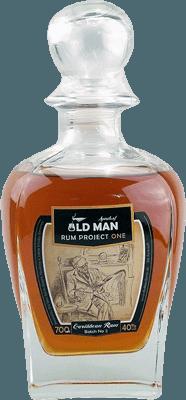 Medium old man rum project one rum
