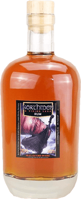 Medium old man rum project one northmen edition 4 rum