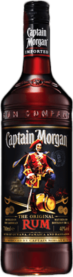 Medium captain morgan dark rum