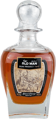 Medium old man rum project two spiced orange rum