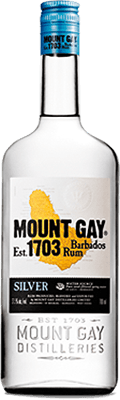 Medium mount gay silver rum
