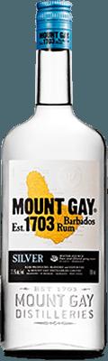 Medium mount gay silver rum