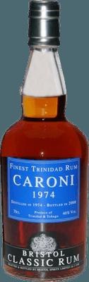 Medium caroni 1974 trinidad rum
