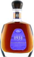 Small 1931 81st anniversary rum