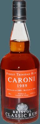 Medium caroni 1989 trinidad rum
