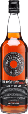 Holey Dollar Platinum Coin rum