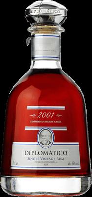Diplomatico  2001 single vintage rum orginal 400px b