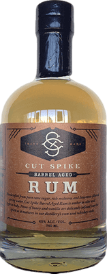 Cut spike barrel aged rum 400px b