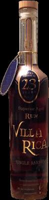 Villa rica 23 year rum