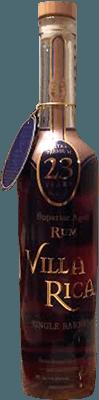 Medium villa rica 23 year rum