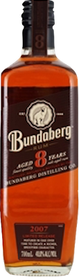 Bundaberg 8 year rum 400px