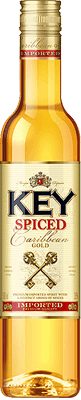Medium key spiced rum