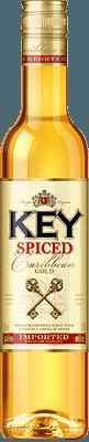 Medium key spiced rum