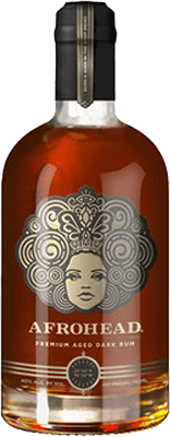 Medium afrohead original rum