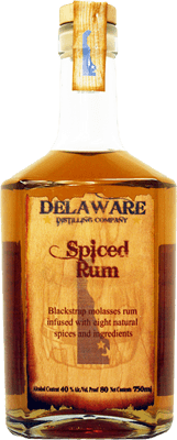 Delaware distilling company spiced rum