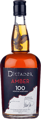 Dictador amber 100 rum