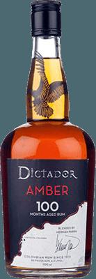 Medium dictador amber 100 rum