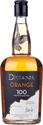 Medium dictador orange 100 rum