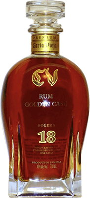 Medium carta vieja golden cask 18 year rum 400px