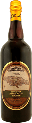 Medium hamilton jamaican black rum 400px