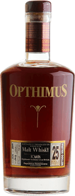 Medium opthimus 25 year malt whiskey finish rum 400px
