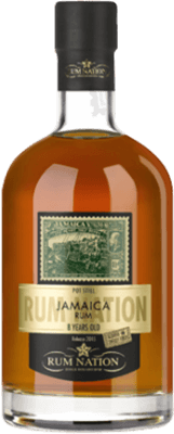 Medium rum nation jamaica 8 year pot still rum 400px
