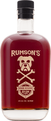 Medium rumsons grand reserve rum