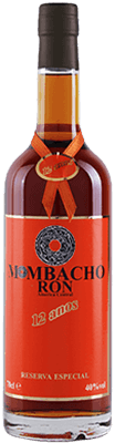 Medium mombacho 12 year rum 400px