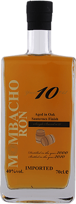 Medium mombacho 10 year sauternes finished rum 400px