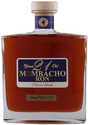 Mombacho 21 year port wood rum 400px