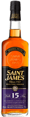Medium saint james reserve privee 15 year rum 400px
