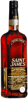Saint james 1998 single cask rum 400px