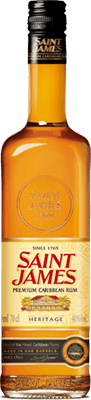 Saint james heritage rum 400px