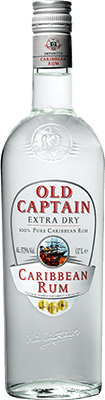 Old captain extra dry rum 400px