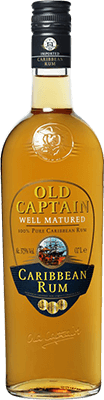 Old captain well matured rum 400px