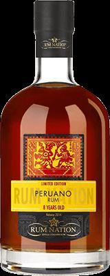 Rum nation peruano 8 year rum 400px
