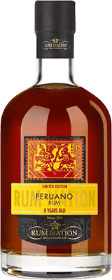 Medium rum nation peruano 8 year rum 400px