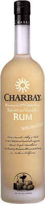 Medium charbay vanilla bean rum