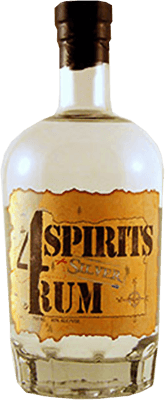 4 spirits silver rum 400
