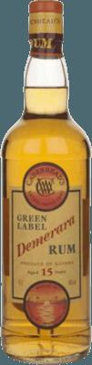 Medium cadenhead s demerara green label 15 year