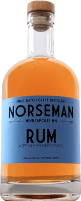 Norseman small batch rum 400px
