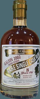 Medium alambic classique collection galion 2002 8 year rum 400