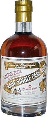 Alambic classique collection galion 2002 5 year rum 400