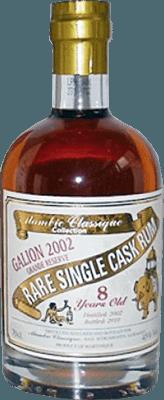 Medium alambic classique collection galion 2002 5 year rum 400