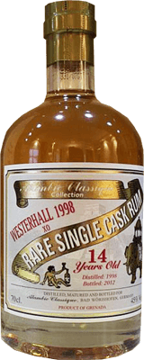 Alambic classique collection westerhall 1998 14 year rum 400