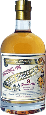 Alambic classique collection westerhall 1998 9 year rum 400